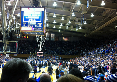 Inside Duke's Cameron Indoor Stadium