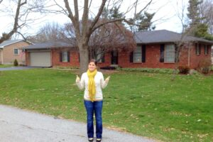 visiting my childhood home in Lexington, Kentucky was 1 of my 25 random things