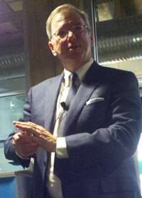 Picture of Eric Schmidt, former CEO and current Executive Chairman of Google