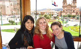 mba students in peru