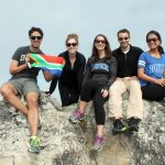 My team atop Table Mountain after the morning hike