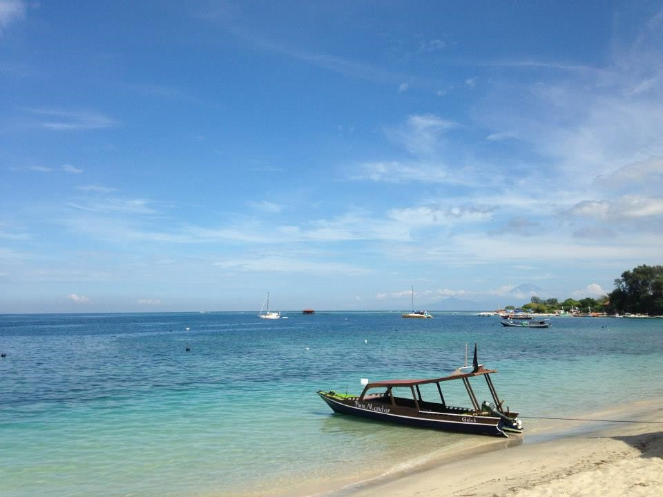The peaceful Gili Islands