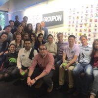 Meeting Team Fuqua at Groupon