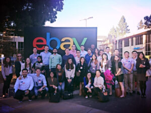 Fuqua MBA students visit eBay
