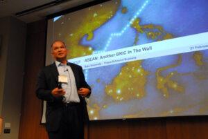 Papkoom Valliusuta at the Duke Asia Business Conference