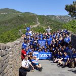 Duke Fuqua: More than 100 MBAs Gain Experience in China at the Great Wall