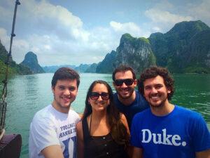Duke Fuqua MBA students in Vietnam