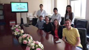 Duke Fuqua MBA students visit a hospital in China