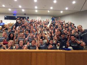 starting my MBA journey with my fellow Section 6 classmates at Duke Fuqua