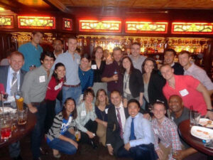 Fuqua students, staff and alumni at the 2014 ROMBA conference in San Francisco