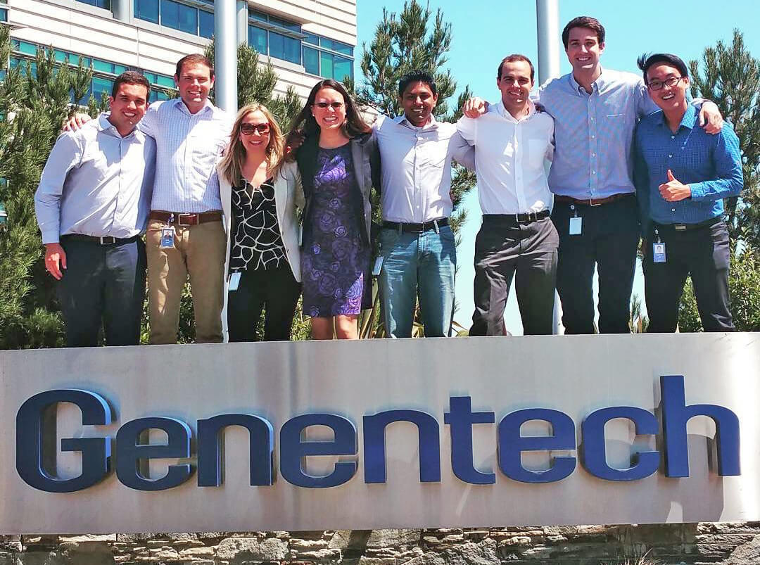 Fuqua students who interned at Genentech during the summer of 2015 - Why an MBA