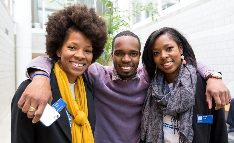 fellow volunteers at Minority Workshop Weeked, life at Fuqua