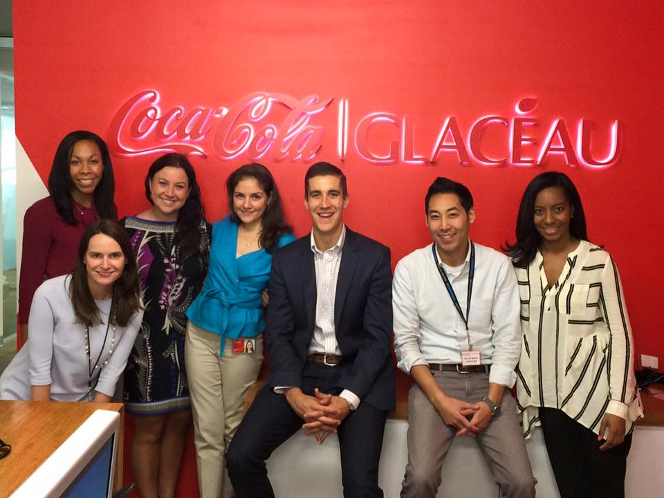 Internship at Coca-Cola