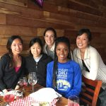 interns gathered for a happy hour, Genentech internship