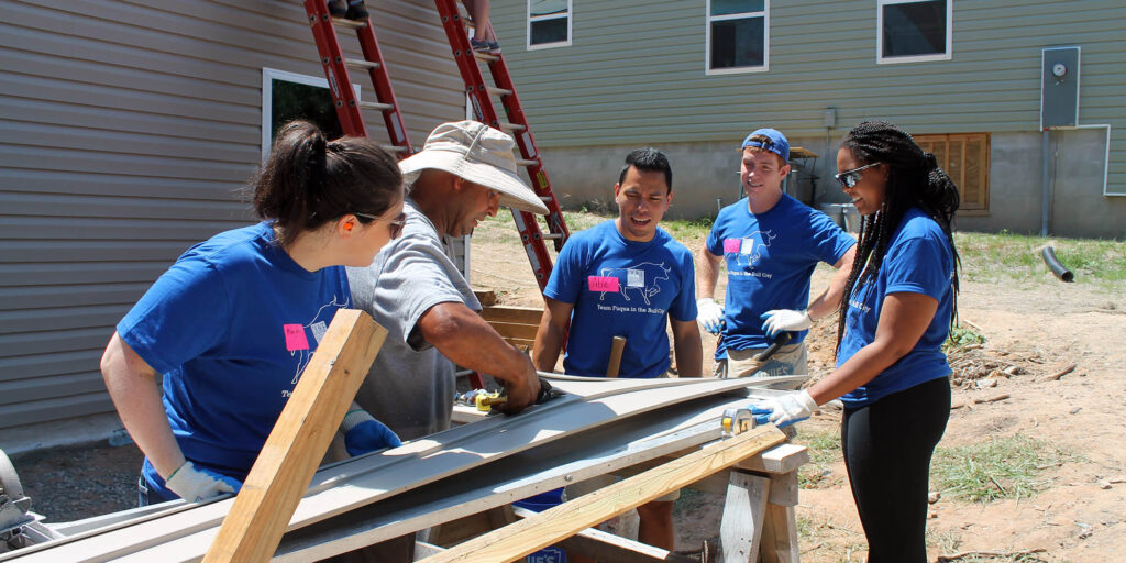 Building Hope: Fuqua on Board and Habitat for Humanity