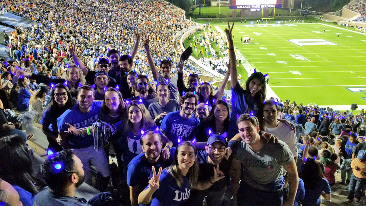students can have a lot of fun at a Duke football game, things you should know before applying