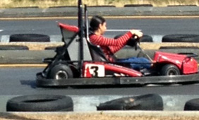 Go Kart at Frankie's.