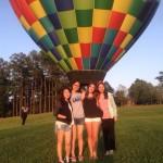 hot hair balloon ride