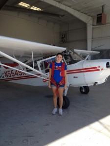 Working on my pilot license at flight school