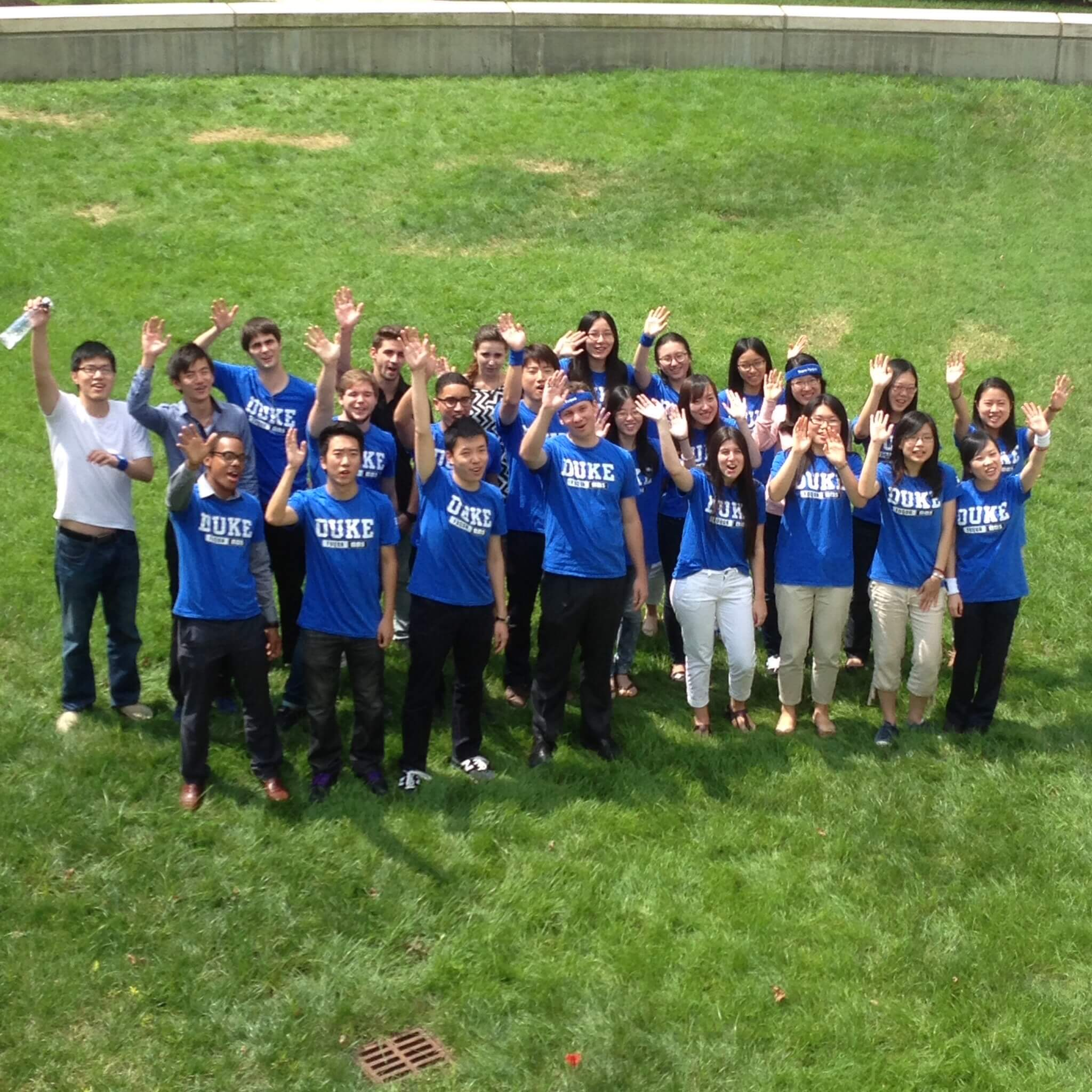 The inaugural MMS: DKU Class of 2015