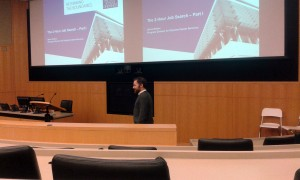 Steve Dalton, MBA '04 and CMC program director sharing his 2-Hour Job Search concepts