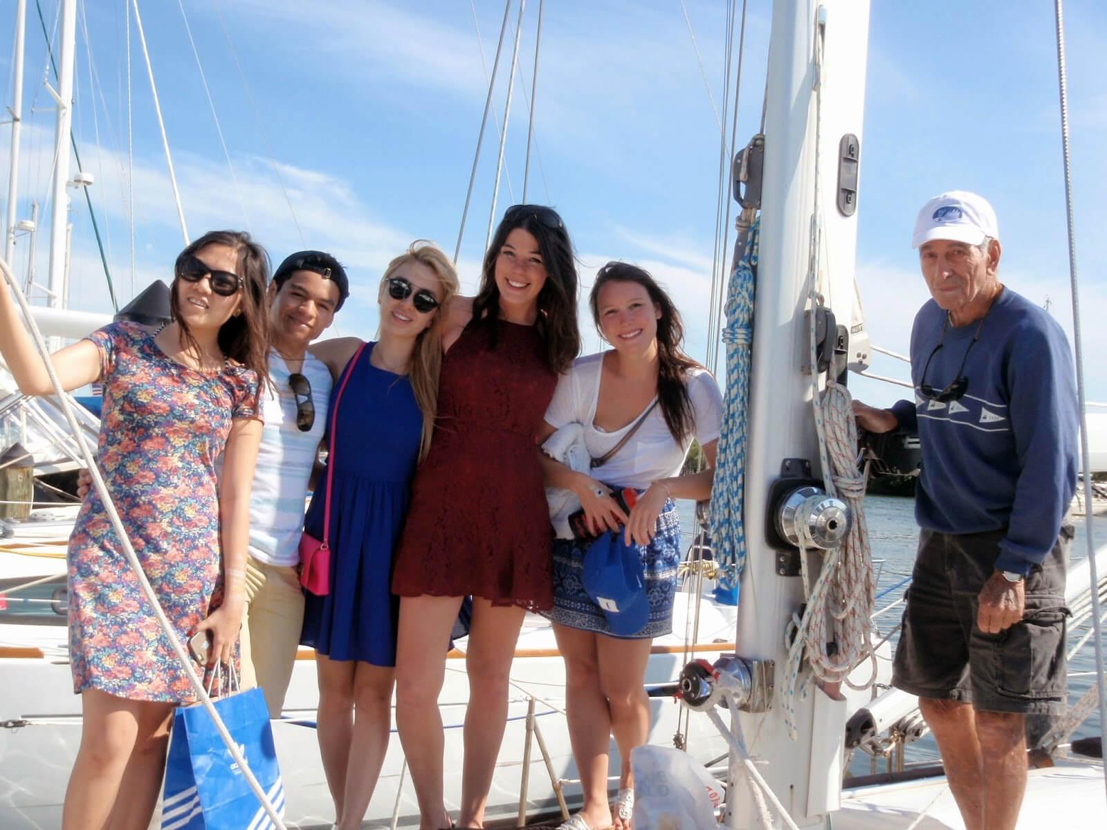 Duke MMS students on spring break in Miami