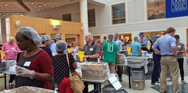 Fuqua's Stop Hunger Now event