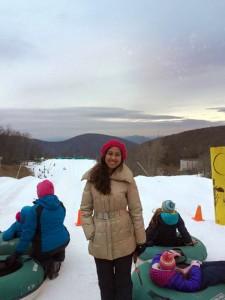 Fuqua MMS student ski trip