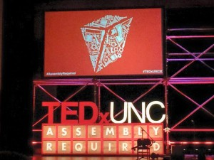 Ted talk at UNC