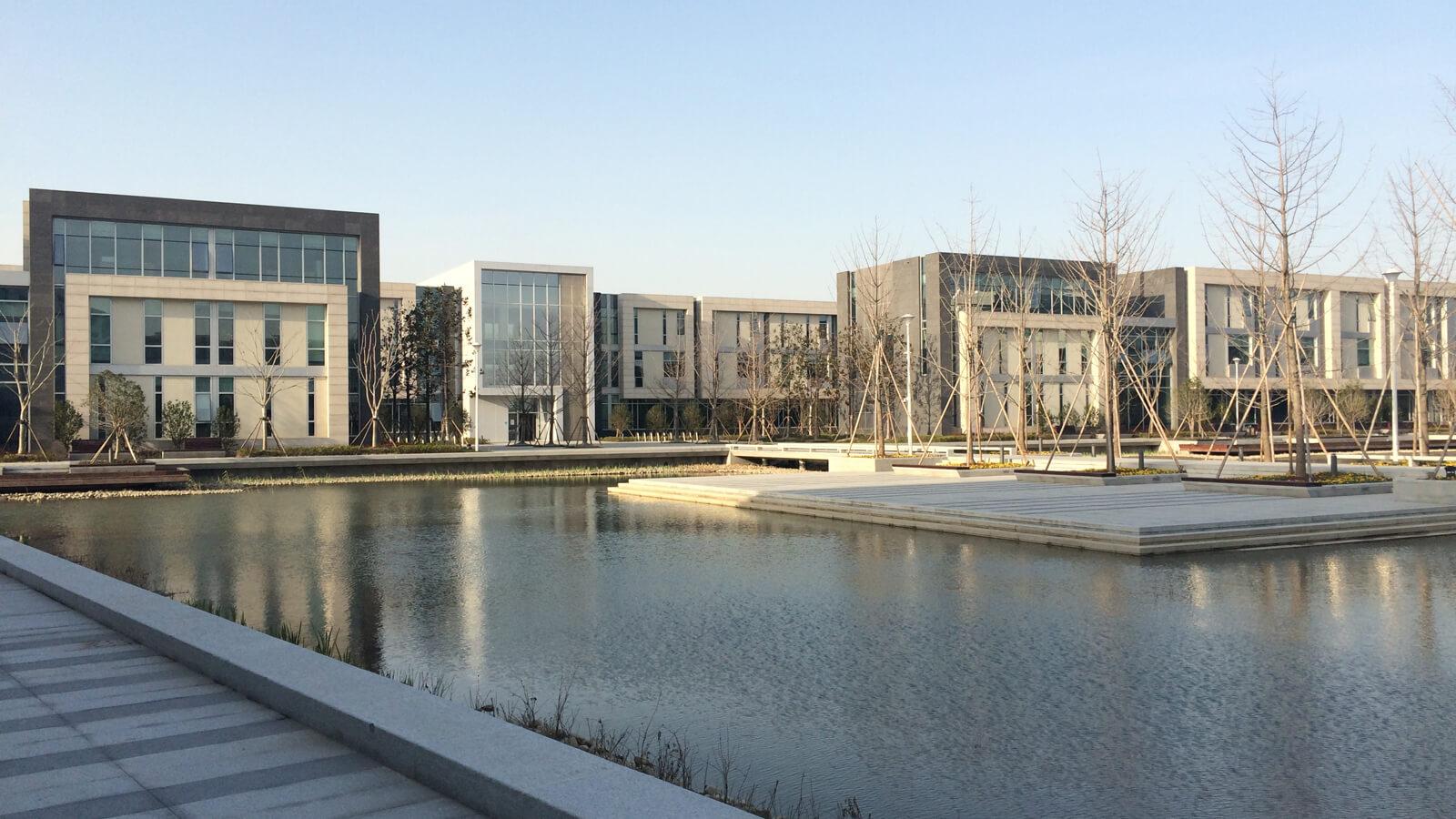 Duke Kunshan University campus in China