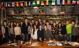 Duke Fuqua MMS: DKU students bonding over dinner