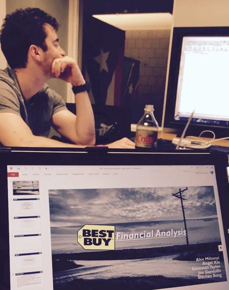 Best Buy valuation - Duke Master of Management Studies
