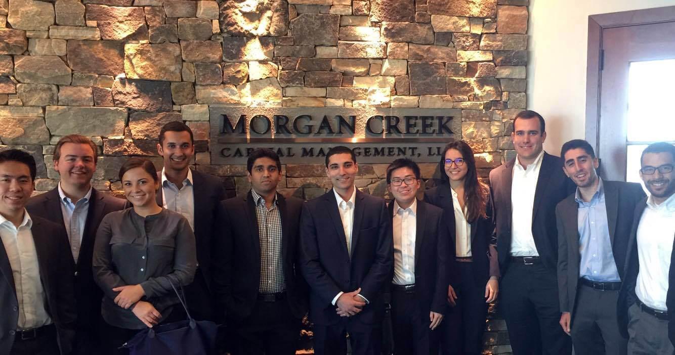 Investment Club visits Morgan Creek Capital Management