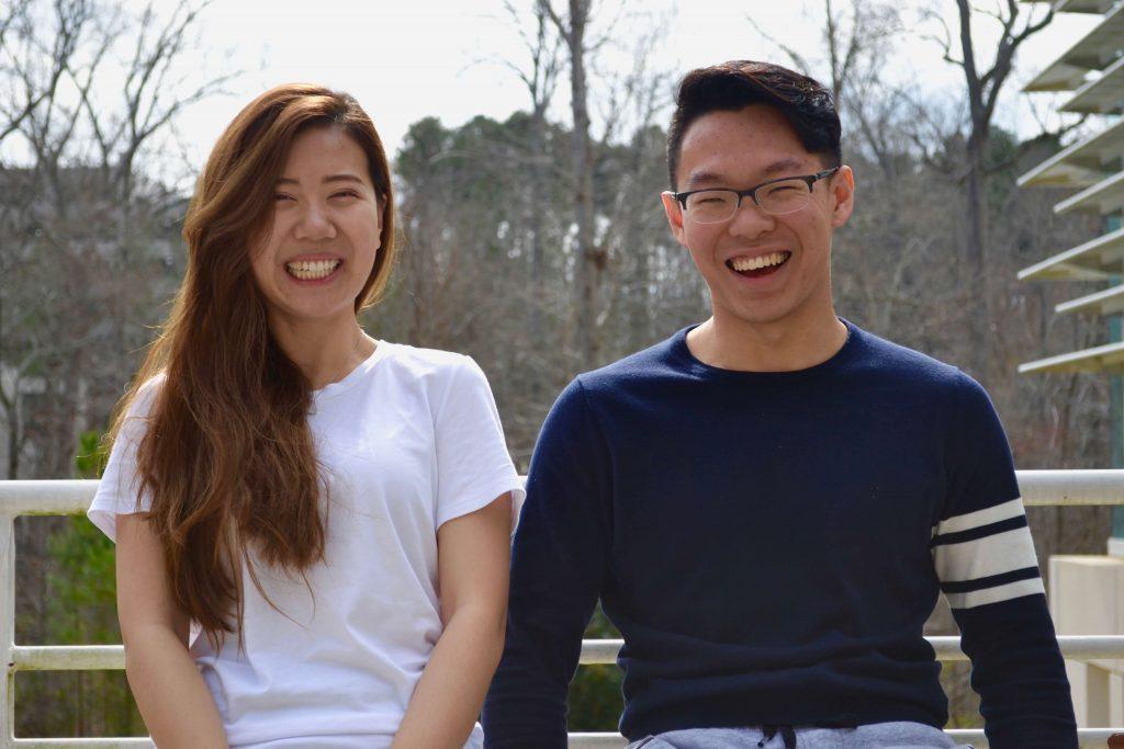 Yi Alice Wang and Yan Zheng, two of our MMS classmates