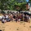 group photo of Fuqua students