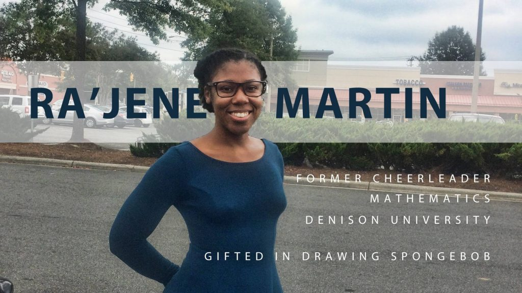 Ra'Jene in Durham, Why MMS among other graduate school options