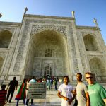 Duke Fuqua Cross Continent MBA Students at the Taj Mahal