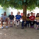 Duke Fuqua Cross Continent MBA students on a farm in Jaipur, India