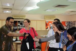 Duke Fuqua Cross Continent MBA students gain unique business insight at Shahi Exports
