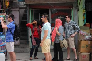 Duke Fuqua Cross Continent MBA students visit Op ASHA while studying in India