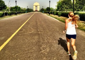 Running toward the India Gate in Delhi, Time Management and Prioritization at the Residencies