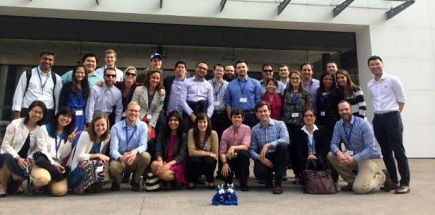A corporate visit to Tesla in China for Duke's Cross Continent MBA students