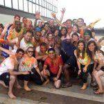 students celebrating Holi in Delhi, maximize the MBA experience