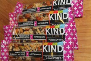 Kind bars, break room snacks