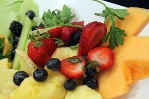 fruit tray, break room snacks
