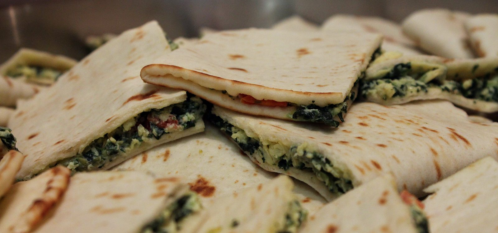 flatbread sandwiches, break room snacks