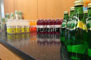drinks, break room snacks