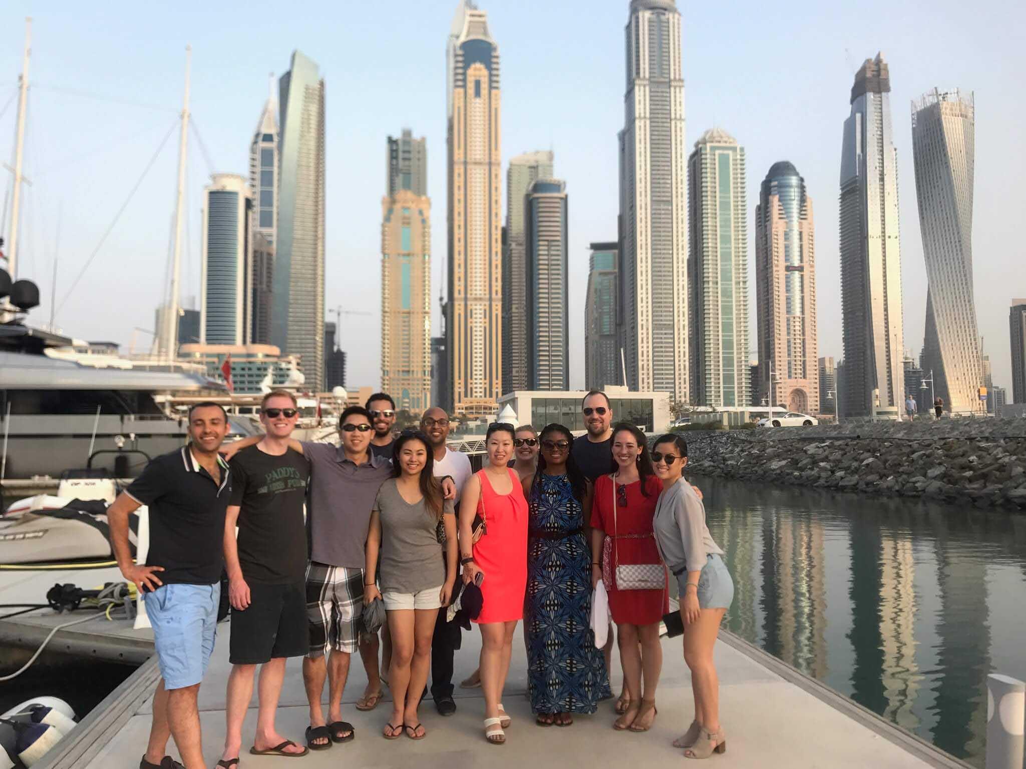 Fuqua students in Dubai