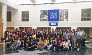 100 MBA students gathered at HSM Bootcamp