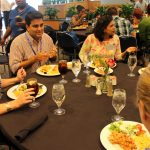 Students enjoying lunch at the JB duke Dining Room